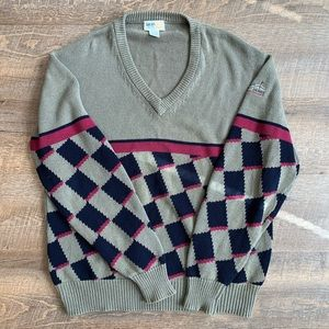 Vintage V Neck Izod Sweater